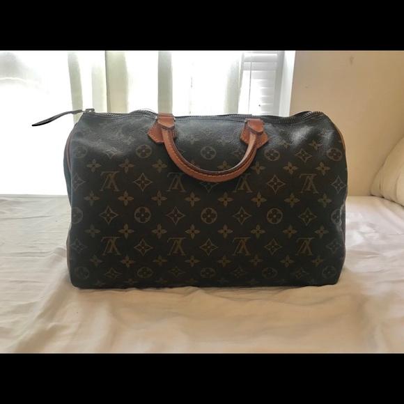 Louis Vuitton Handbags - Authentic Vintage Louis Vuitton Speedy 30